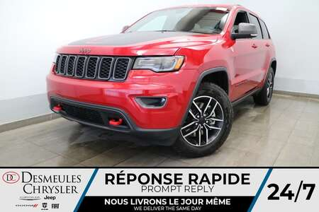 2021 Jeep Grand Cherokee Trailhawk 4X4 * UCONNECT 8.4 PO * NAVIGATION * CAM for Sale  - DC-J21094  - Desmeules Chrysler
