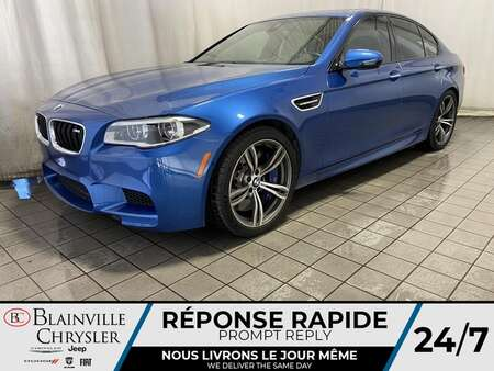 2014 BMW M5 COMPETITION * GPS * CAM RECUL * 4 SIEGES for Sale  - BC-21102A  - Blainville Chrysler