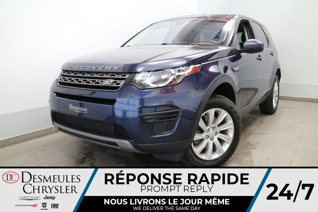 2017 Land Rover DISCOVERY SPORT  - Desmeules Chrysler