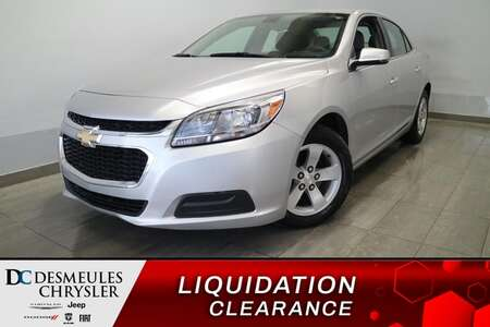 2016 Chevrolet Malibu Limited LS 2.5L * AIR CLIMATISE * CRUISE * BLUETOOTH * for Sale  - DC-S2591  - Blainville Chrysler