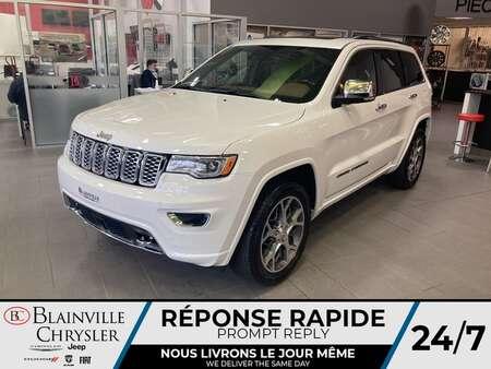 2021 Jeep Grand Cherokee Overland RARE ET RAFINÉ * CUIR VENTILLÉ * TOIT for Sale  - BC-21377  - Desmeules Chrysler