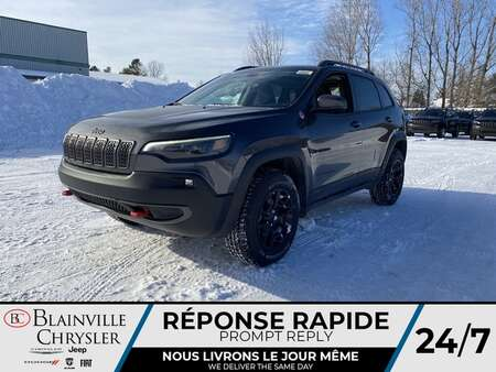 2021 Jeep Cherokee Trailhawk * APPLE CARPLAY * CAM RECUL * TOIT PANO for Sale  - BC-21221  - Blainville Chrysler