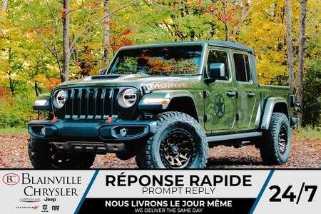 2021 Jeep Gladiator Mojave BLACK OPS STAGE I for Sale  - BC- 21720  - Blainville Chrysler