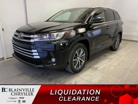 2019 Toyota Highlander AWD 8 PASSAGER * CAM RECUL * GPS * TOIT * for Sale  - BC-21433A  - Blainville Chrysler