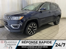 2018 Jeep Compass Limited * GPS * CAM RECUL * SIEGES CHAUFFANTS *  - BC-M1933  - Blainville Chrysler
