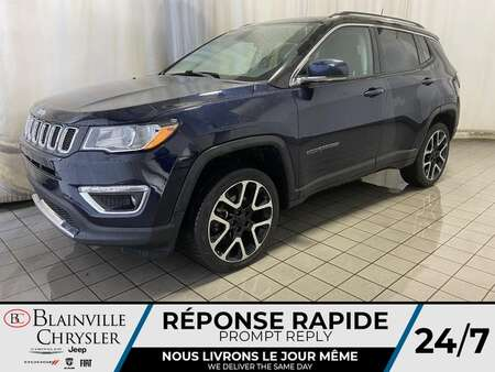 2018 Jeep Compass Limited * GPS * CAM RECUL * SIEGES CHAUFFANTS * for Sale  - BC-M1933  - Desmeules Chrysler