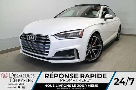 2018 Audi S5 Sportback Prestige 3,0L AWD * NAVIGATION * TOIT PANO * CUIR for Sale  - DC-E2662  - Desmeules Chrysler