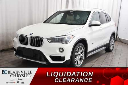 2016 BMW X1 * INTERIEUR MOCHA * CAM RECUL * SIEGE CHAUFFANT * for Sale  - BC-P1571  - Desmeules Chrysler