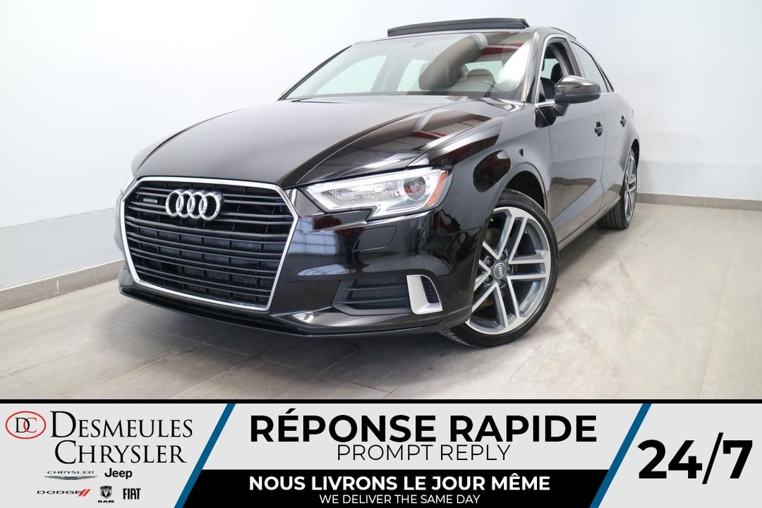 2017 Audi A3  - Desmeules Chrysler