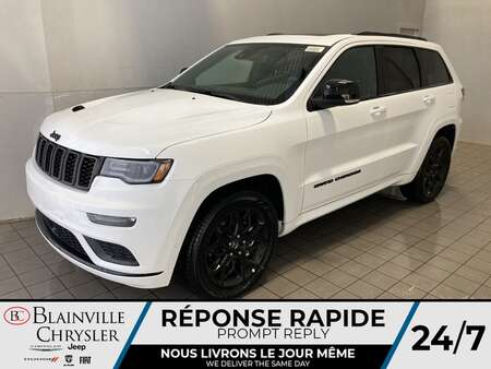 2021 Jeep Grand Cherokee Limited X V6 * CUIR VENTILLÉ * TOIT PANORAMIQUE * for Sale  - BC-21520  - Blainville Chrysler