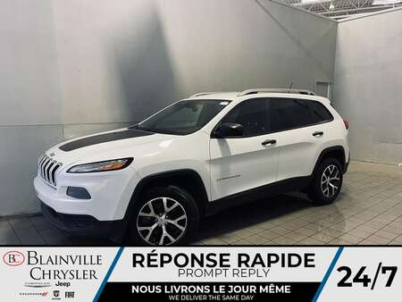 2016 Jeep CHEROKEE SPORT * CRUISE * COMMANDE VOCAL  * CAM DE RECUL * WOW! for Sale  - BC-21569A  - Desmeules Chrysler