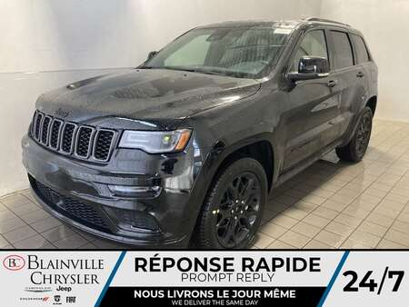 2021 Jeep Grand Cherokee Limited X V6 * CUIR VENTILLÉ * TOIT PANORAMIQUE * for Sale  - BC-21522  - Blainville Chrysler