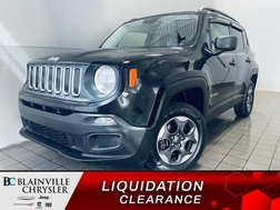 2016 Jeep Renegade Sport 4WD * BLUETOOTH * CRUISE * A/C *  - BC-21271A  - Blainville Chrysler