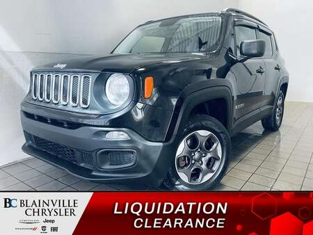 2016 Jeep Renegade Sport 4WD * BLUETOOTH * CRUISE * A/C * for Sale  - BC-21271A  - Desmeules Chrysler