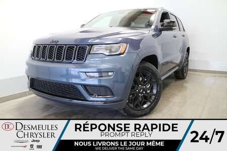 2021 Jeep Grand Cherokee Limited X 4X4* UCONNECT 8.4 PO * NAVIGATION * CUIR for Sale  - DC-21705  - Blainville Chrysler