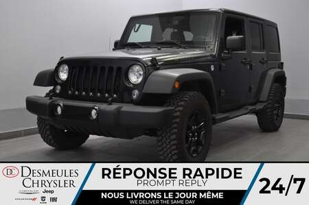 2017 Jeep Wrangler Unlimited * BLUETOOTH * CRUISE * A/C for Sale  - DC-21140A  - Desmeules Chrysler