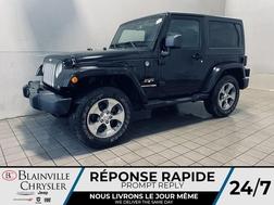 2018 Jeep Wrangler JK SAHARA 4X4 * CRUISE * BLEUTOOTH * WOW!  - BC-R2291  - Blainville Chrysler