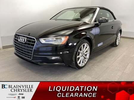 2015 Audi A3 2.0T PROGRESSIV * QUATTRO * INT. COGNAC * WOW for Sale  - BC-S1951  - Blainville Chrysler