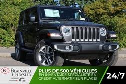 2021 Jeep Wrangler UNLMITED SAHARA * GPS * ECRAN TACTILE 8.4 PO *  - BC-21792  - Blainville Chrysler