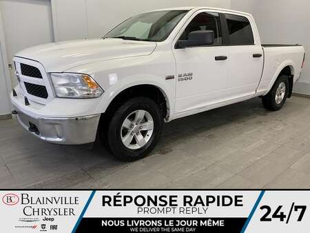 2018 Ram 1500 Crew Cab * 6 PASSAGERS * BLUETOOTH * CRUISE * A/C for Sale  - BC-S1969A  - Blainville Chrysler