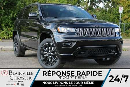 2021 Jeep Grand Cherokee LAREDO E * SIEGES CUIR/ SUEDE CHAUFFANTS * GPS * for Sale  - BC-21739  - Blainville Chrysler