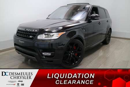 2016 Land Rover Range Rover V8 4WD * CAM RECUL * SIEGES CHAUFFANTS * GPS for Sale  - DC-U2336  - Blainville Chrysler