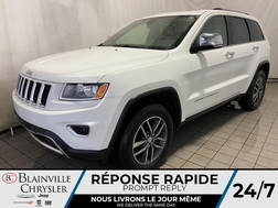 2016 Jeep Grand Cherokee LIMITED * CAMERA RECUL * BLUETOOTH * TOIT OUVRANT  - BC-20271A  - Desmeules Chrysler