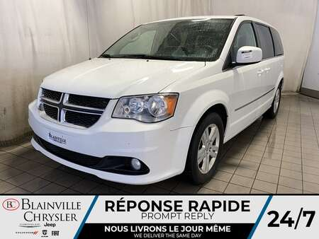 2016 Dodge Grand Caravan Crew * CLIM TRI-ZONE * MODE ECON for Sale  - BC-C1950  - Blainville Chrysler