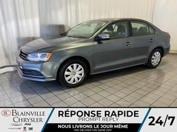 2016 Volkswagen Jetta Sedan 1.4T * TRENDLINE PLUS * BLUETOOTH * CAMERA RECUL  - BC-20083A  - Desmeules Chrysler