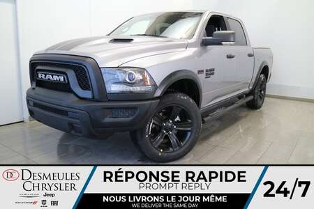 2021 Ram 1500 Warlock Crew Cab 4X4 * SIEGES ET VOLANT CHAUFFANTS for Sale  - DC-21214  - Desmeules Chrysler