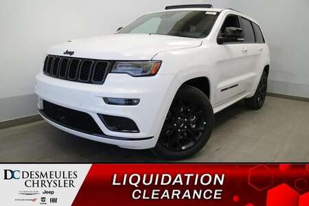 2021 Jeep Grand Cherokee Limited X 4X4 * UCONNECT 8.4 PO* NAVIGATION * CUIR for Sale  - DC-21754  - Blainville Chrysler