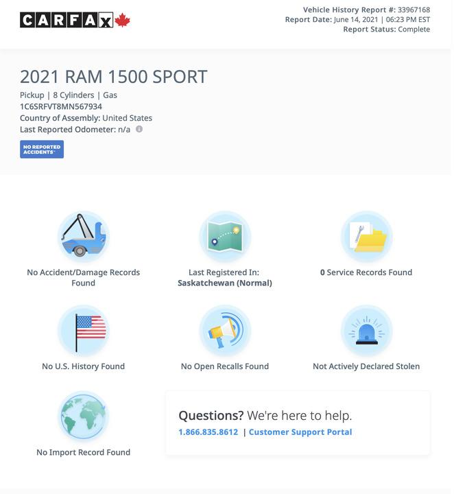 2021 Ram 1500  - Desmeules Chrysler