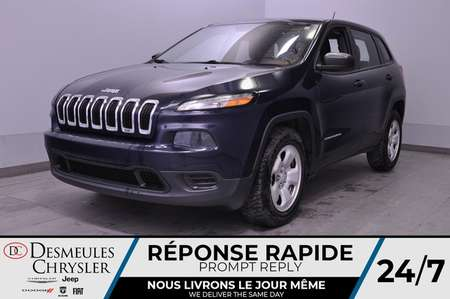 2015 Jeep Cherokee Sport + a/c + bluetooth + camera recul for Sale  - DC-20349A  - Desmeules Chrysler