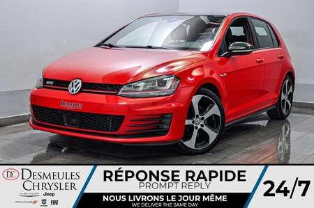 2017 Volkswagen Golf GTI * CAM RECUL * SIÈGES CHAFFANTS * TOIT OUVRANT for Sale  - DC-S2350  - Blainville Chrysler