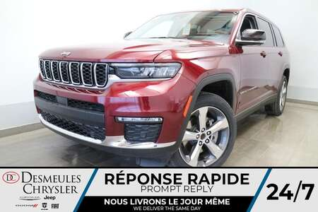 2021 Jeep Grand Cherokee L Limited 4X4 * UCONNECT 10.1 PO * NAVIGATION* CUIR for Sale  - DC-21795  - Desmeules Chrysler