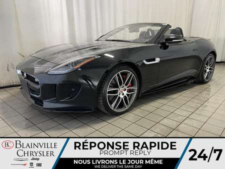 2017 Jaguar F-TYPE R * AWD * SPORT PACK EXHAUST * NAV * CAM RECUL * for Sale  - BC-S1730  - Blainville Chrysler