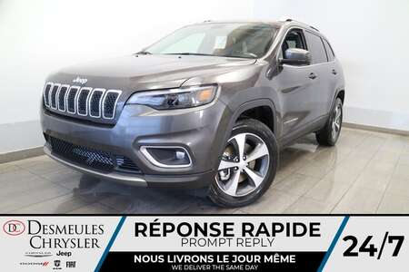 2021 Jeep Cherokee LIMITED 4X4 * TOIT OUVRANT * CAMERA DE RECUL for Sale  - DC-21177  - Desmeules Chrysler