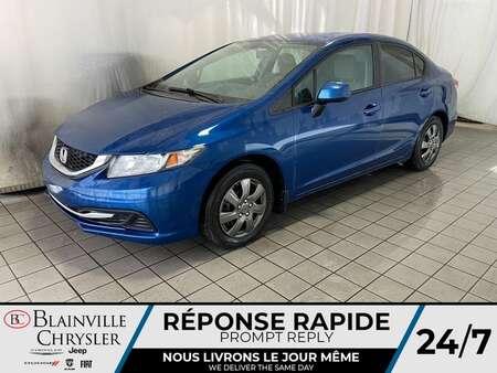 2013 Honda Civic LX * BLUETOOTH * CRUISE * SIEGES CHAUFFANTS * A/C for Sale  - BC-20270A  - Desmeules Chrysler