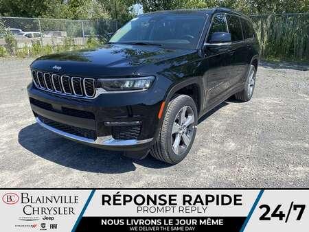 2021 Jeep Grand Cherokee L Limited * 7 PASSAGERS * CUIR VENTILLÉ * for Sale  - BC- 21623  - Desmeules Chrysler