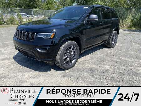 2021 Jeep Grand Cherokee 80eme * TOIT PANORAMIQUE * CUIR VENTILLÉ * for Sale  - BC-21632  - Blainville Chrysler