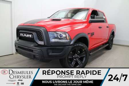 2021 Ram 1500 Warlock Crew Cab 4X4 * TOIT OUVRANT * UCONNECT for Sale  - DC-21210  - Desmeules Chrysler