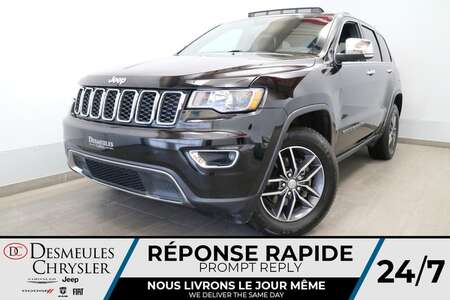 2018 Jeep Grand Cherokee LIMITED 4X4 * UCONNECT 8.4 PO * NAVIGATION* CUIR * for Sale  - DC-U2723A  - Blainville Chrysler