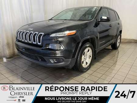 2014 Jeep Cherokee Sport 4WD * CAM RECUL * SIEGES/VOLANT CHAUFFANTS for Sale  - BC-21115A  - Desmeules Chrysler
