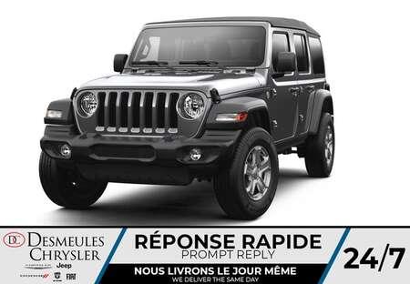 2021 Jeep Wrangler Unlimited Sport 4X4 * UCONNECT 7 PO * CAM RECUL for Sale  - DC-C48685461  - Desmeules Chrysler
