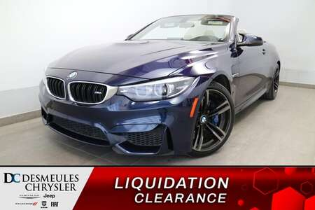 2018 BMW M4 M4 DECAPOTABLE * NAVIGATION * CAMERA DE RECUL * for Sale  - DC-U2947  - Blainville Chrysler