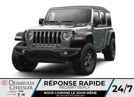 2021 Jeep Wrangler Unlimited Rubicon 4X4 DIESEL * UCONNECT * NAV * for Sale  - DC-C49780159  - Desmeules Chrysler