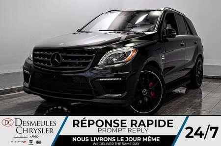 2014 Mercedes-Benz M-Class ML 63 AMG® * SIÈGES CHAUFFANT ET VENTILES * GPS for Sale  - DC-90047A  - Desmeules Chrysler