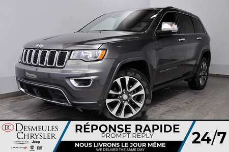 2018 Jeep Grand Cherokee Limited * BLUETOOTH * SIEGES CHAUFFANTS * for Sale  - DC-81202  - Blainville Chrysler
