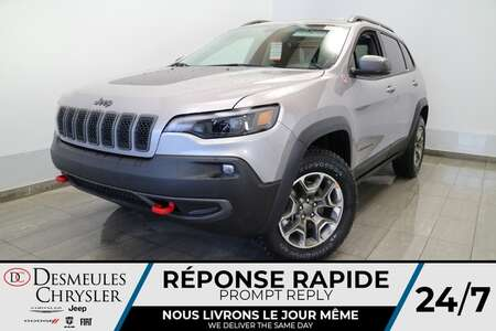 2021 Jeep Cherokee Trailhawk AWD * NAVIGATION * TOIT OUVRANT * CUIR * for Sale  - DC-21358  - Blainville Chrysler