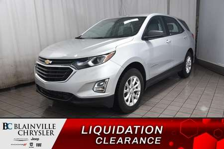 2018 Chevrolet Equinox LS * BLUETOOTH * CAMERA RECUL * SIEGES CHAUFFANTS for Sale  - BC-90513A  - Desmeules Chrysler